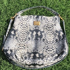Marc Jacobs Hillier Hobo Snake Bag
